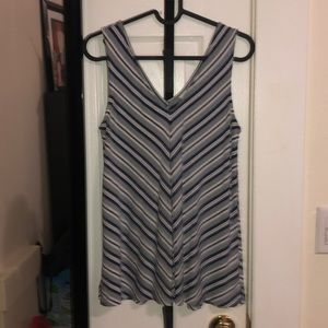Chevron Swing Top